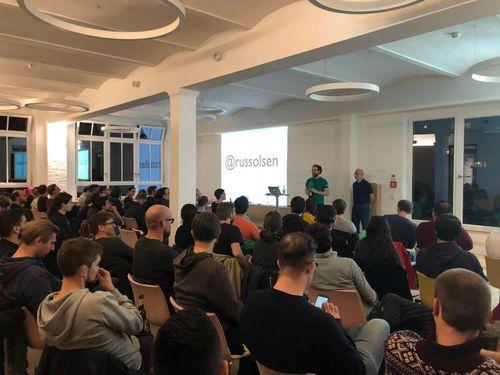 Technology meetups at the Berlin office